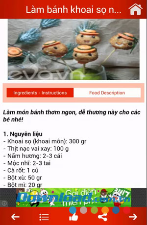 Món ngon Trung Quốc for Android