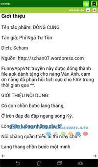 Đông cung for Android