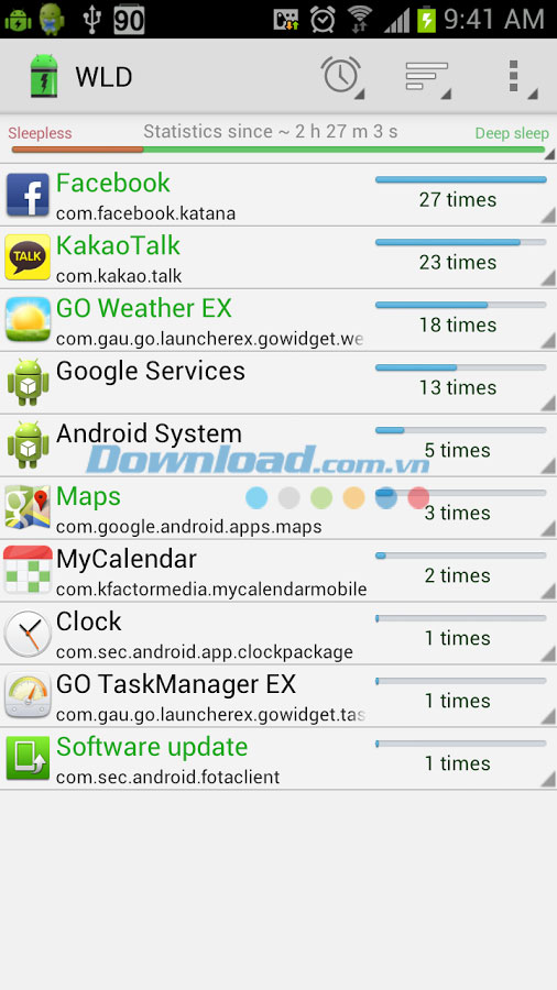 Wakelock Detector for Android