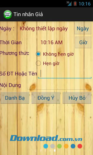 Tin nhắn giả for Android
