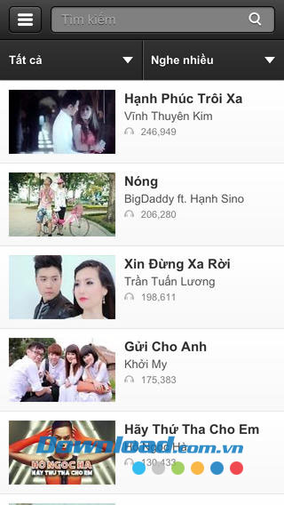 Nghe ZingMp3 for iOS