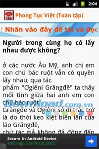 Phong tục Việt Nam for Android