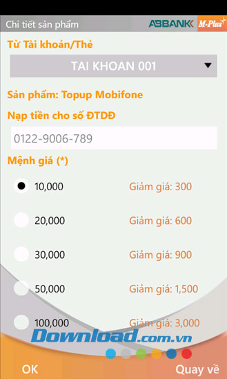 ABBank M-Plus for Android