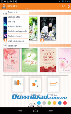 Zinbooks for Android