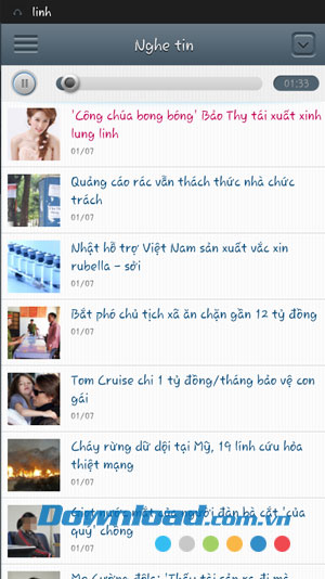 Tin ngắn for Android
