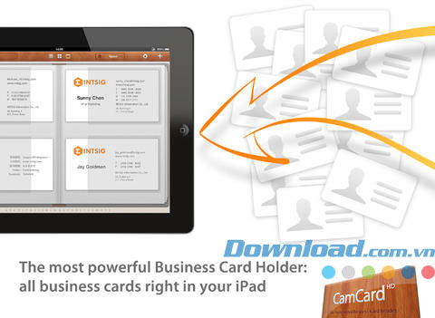 CamCard HD Free for iPad
