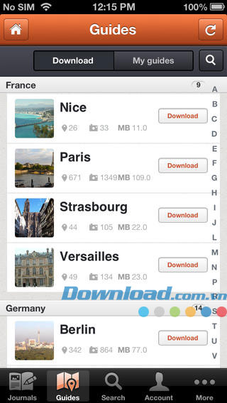 Travel Guide & Journal for iOS