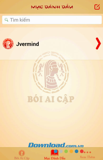 Bói Ai Cập for Android