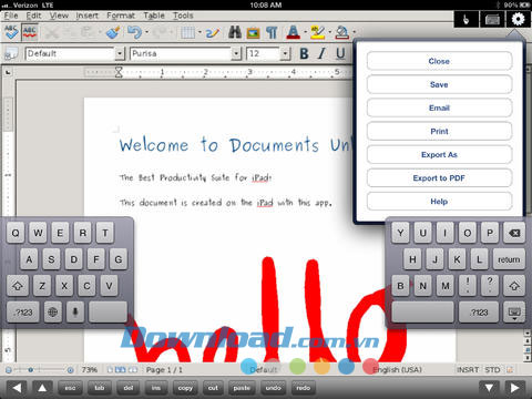 Documents Unlimited Free for iPad