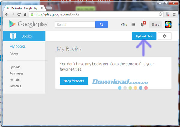 Google Play Book for Android