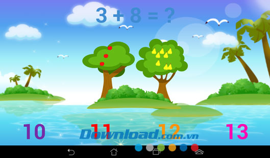 Bé học toán for Android