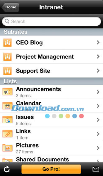 SharePlus Lite for iOS
