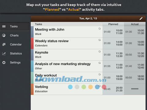 Schedule Planner HD for iPad