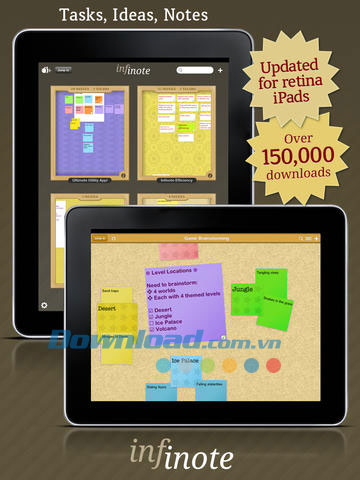 Infinote Pinboard for iPad