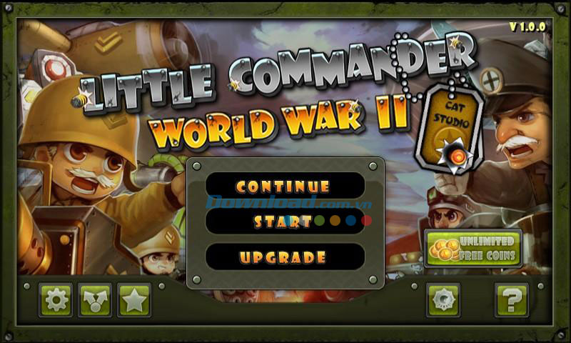 Little Commander - WWII TD for Android