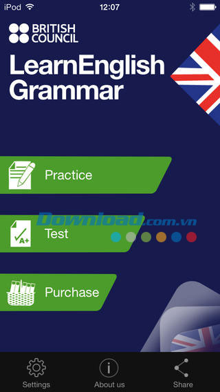 LearnEnglish Grammar (UK Edition) for iOS