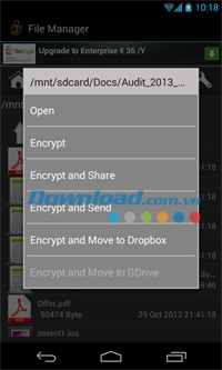 GoCrypt Basic File Encryption for Android