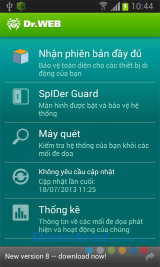 Dr.Web Antivirus Light for Android