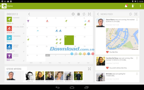 Endomondo Sports Tracker for Android