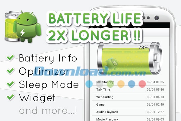 Battery Saver 2X for Android