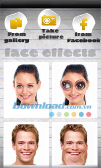 Face Effects for Android