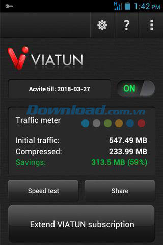 Viatun4 VPN for Android