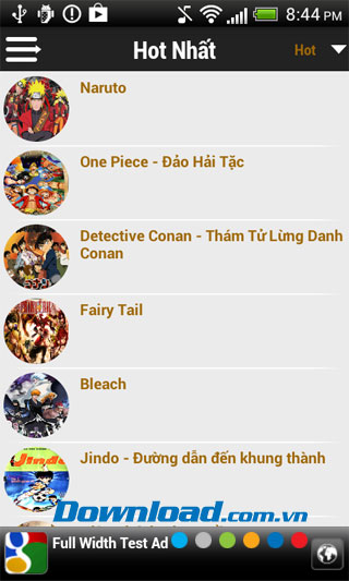 Thế giới truyện tranh for Android