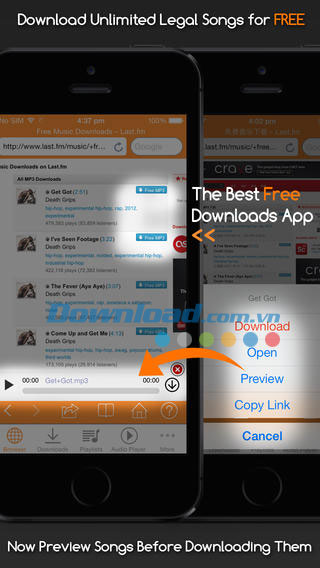 MP3 Song Downloader Free for iOS