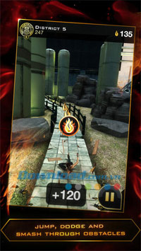 The Hunger Games: Catching Fire - Panem Run for iOS
