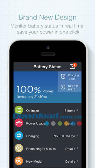 Battery Saver for iOS