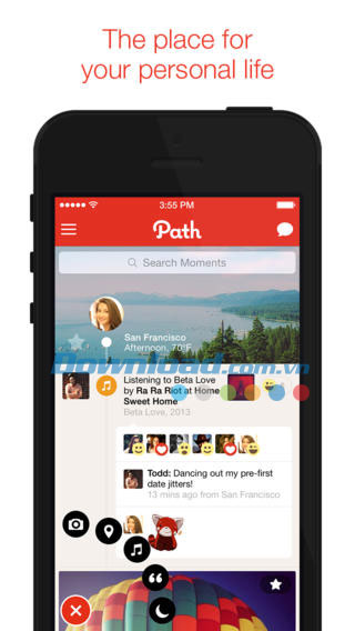 Path for iOS