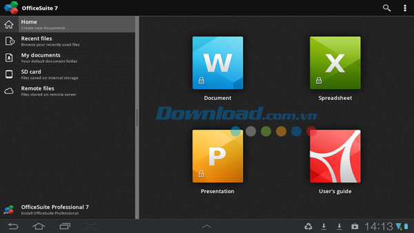 OfficeSuite 7 for Android