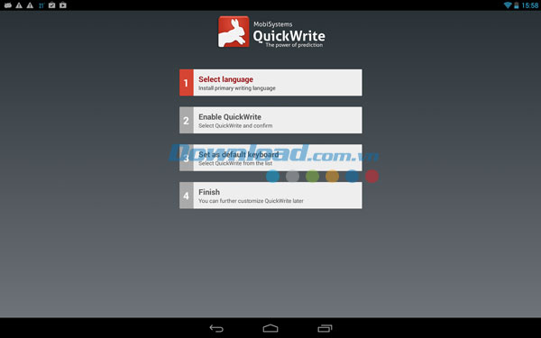 QuickWrite Keyboard for Android