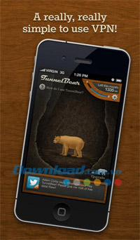 TunnelBear VPN for iOS
