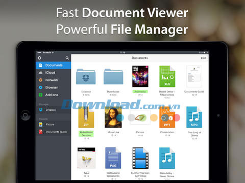 Documents 5 by Readdle for iOS