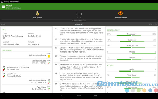The Football App For Android