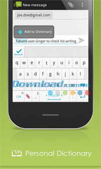 Ginger Keyboard for Android