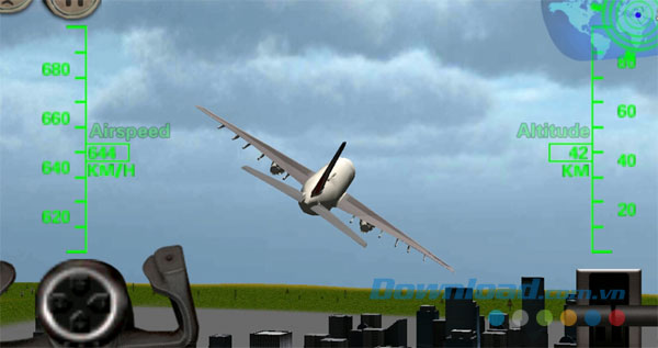 3D Airplane flight simulator for Android