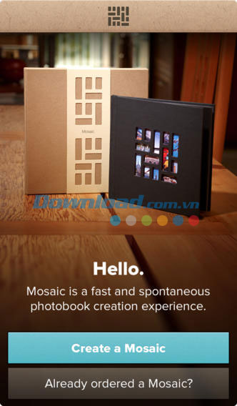 Mosaic Photo Books for iOS
