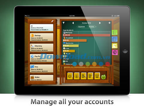 Checkbook HD Free for iOS