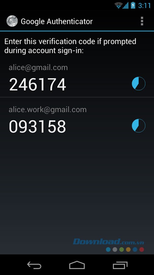 Google Authenticator for Android