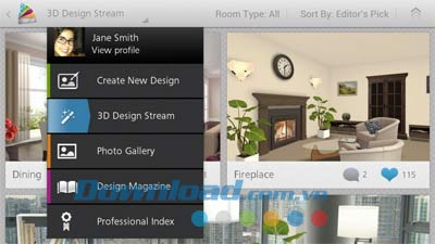 Autodesk Homestyler for Android