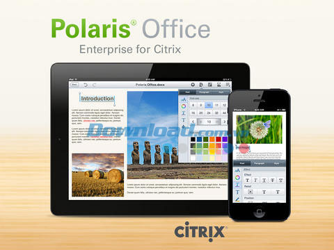 Polaris Office for Citrix for iOS