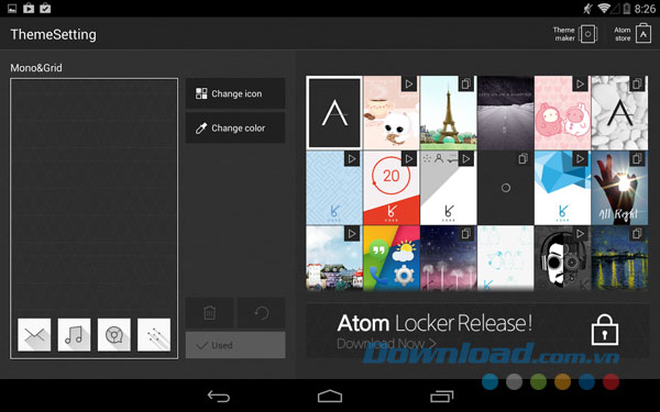 Atom Launcher for Android