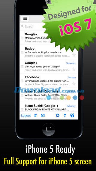 SafeMail for Gmail Free for iOS