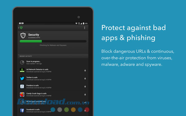 Lookout Security & Antivirus For Android