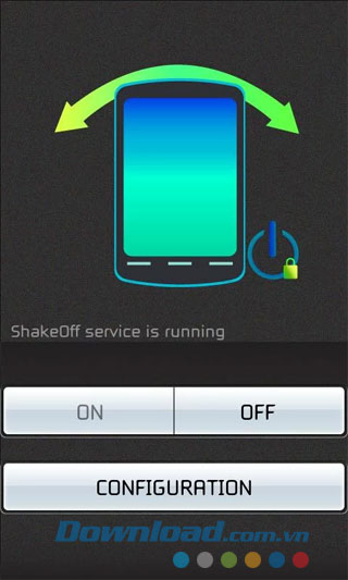 Shake - Screen Off for Android