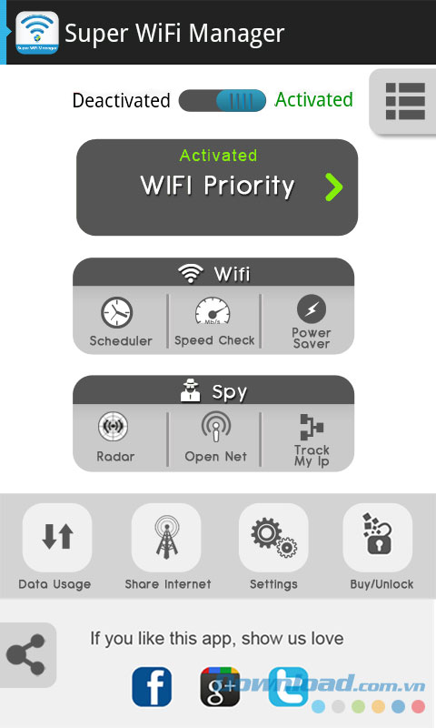 Super WiFi Manager for Android