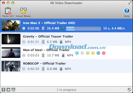 4K Video Downloader for Mac