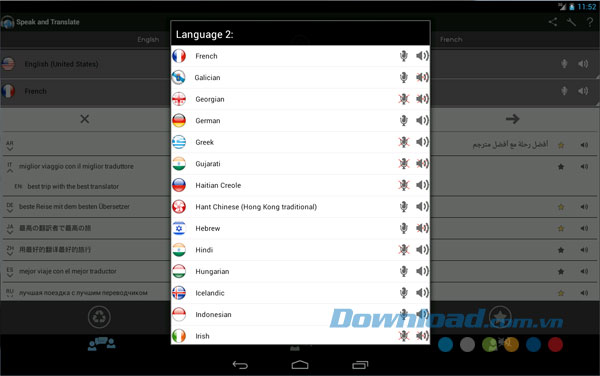 Speak and Translate for Android